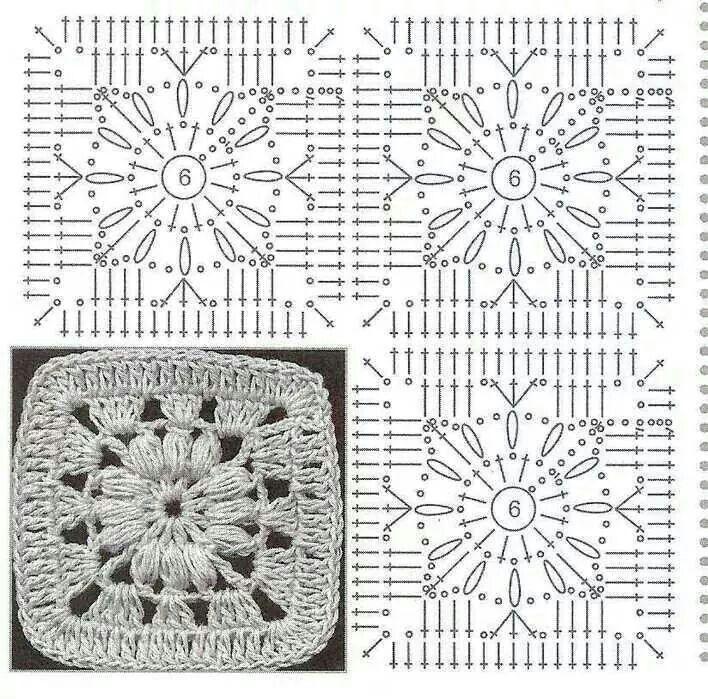 Pin de nora dibenedetto en flores y granys | Pinterest | Cuadrados ...