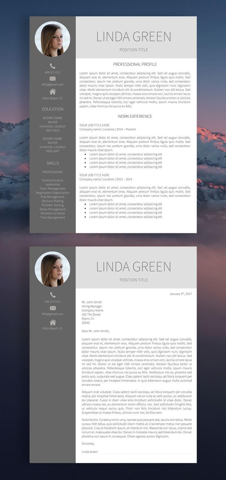 Resume, Resume Template, Modern Resume Template, Professional Resume  Template, Cv, Cv