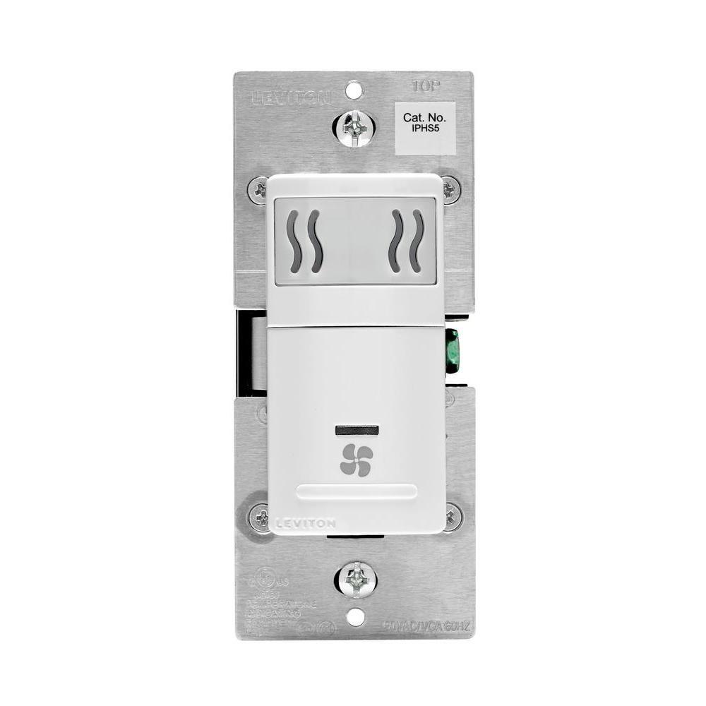 Leviton Decora In Wall Humidity Sensor Fan Control 3 A Single