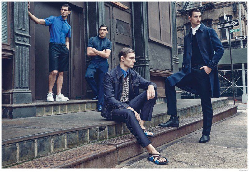 GQ Brasil Takes Early Look at Spring 2015 Trends Group