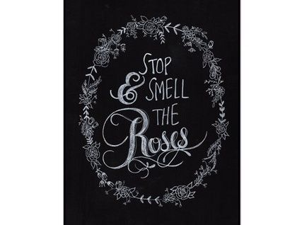 Smell The Roses A3 Print