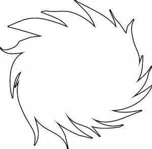 picture regarding Lorax Template Printable referred to as The Lorax - Truffula tree slash out for birthday events