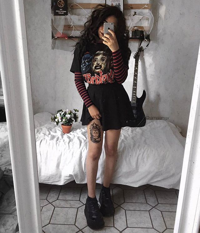 Photo of Follow ALTGirl Alternative Style Grunge Style Gothic Style Grunge Girl Grunge O… – Carola