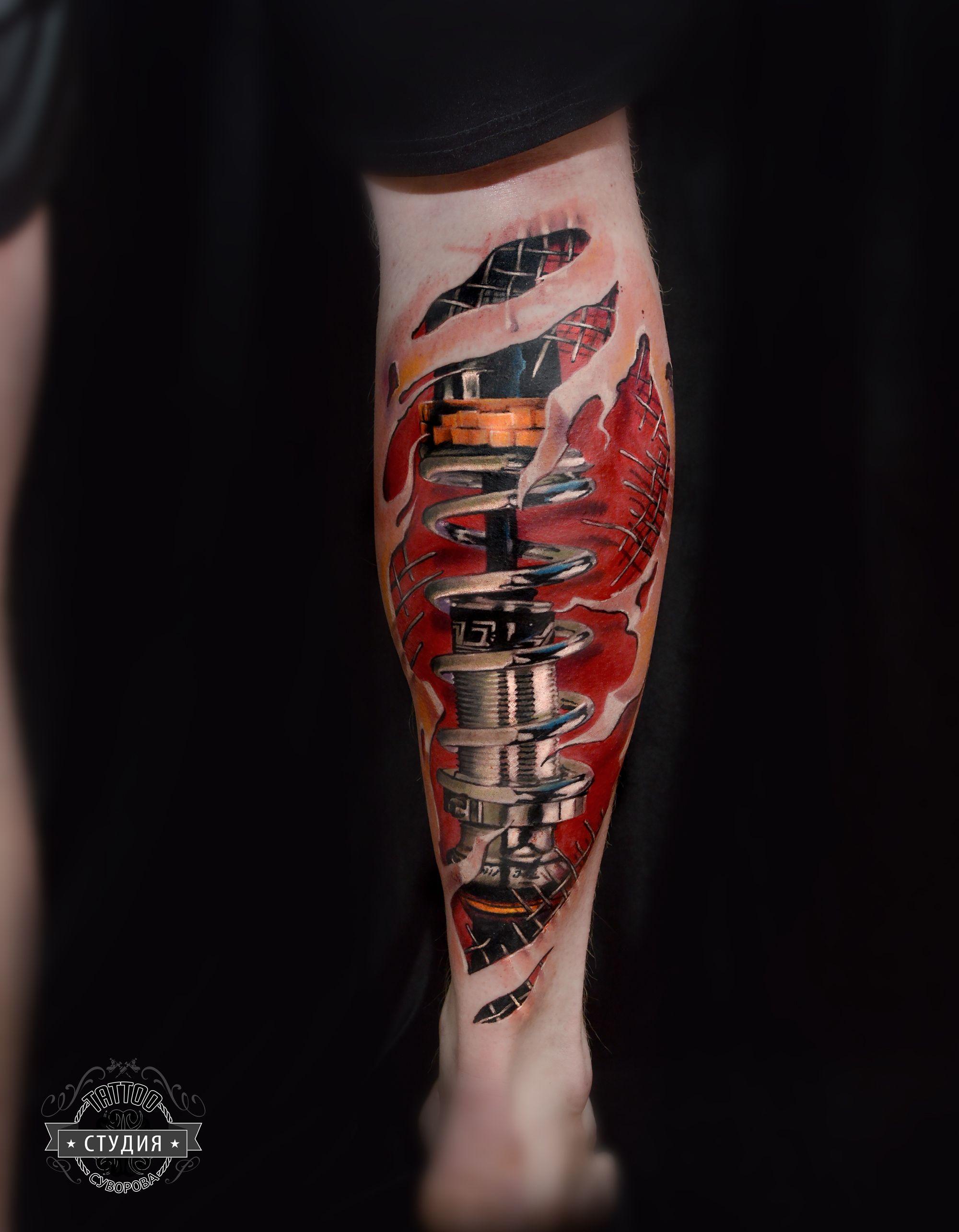 амортизатор тату татустудиясуворова tattoos tat