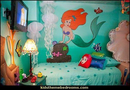 Ariel Themed Bedroom Decorating Ideas-Ariel Theme Bedroom