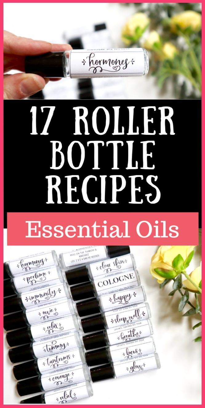 17 Essential Oil Roller Recipes 17 Essential Oil Roller Recipes  My Merry Messy Life