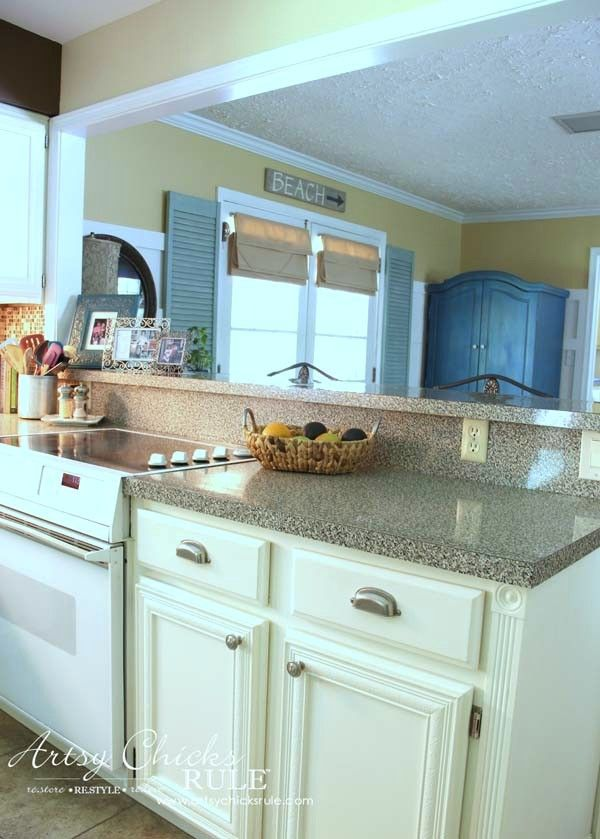 Kitchen Cabinet Makeover Annie Sloan Chalk Paint For The Home