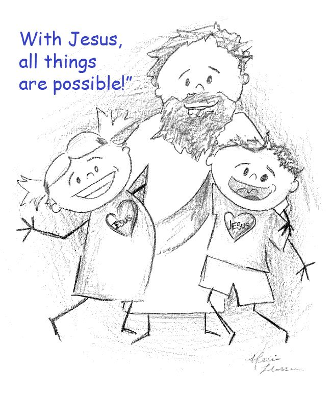 Image Result For Jesus And The Rich Young Ruler Coloring Sheet