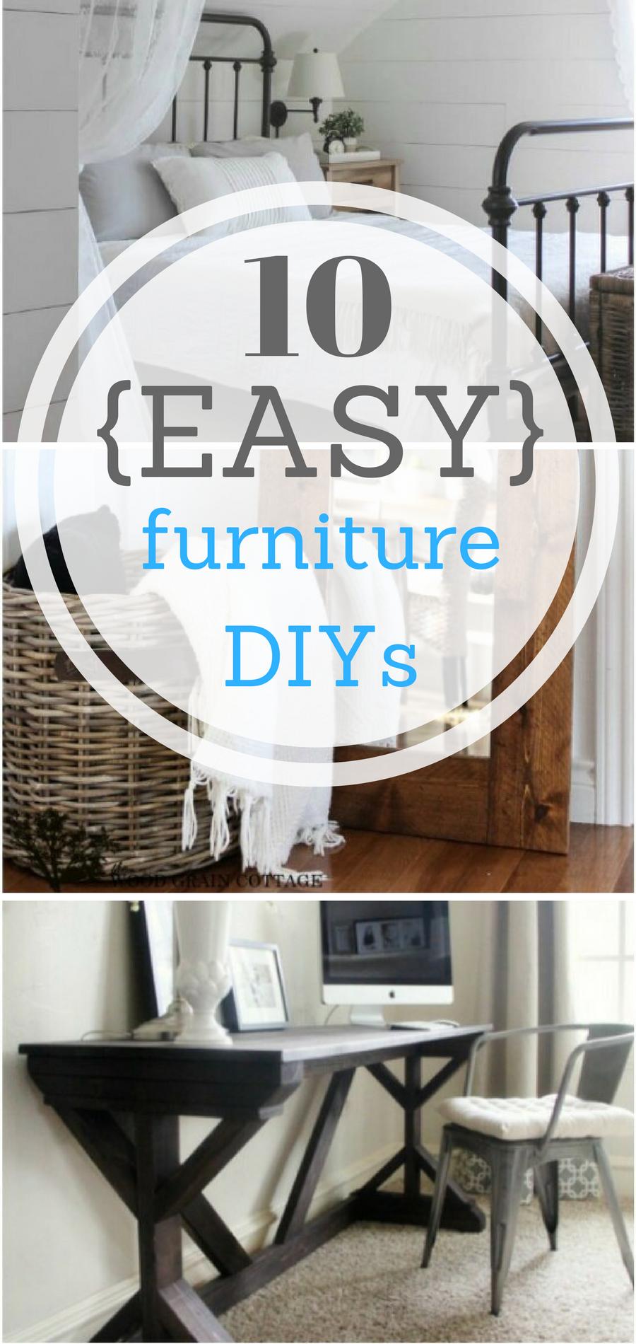 compatible furniture. 10 {EASY} Furniture DIYs Compatible F