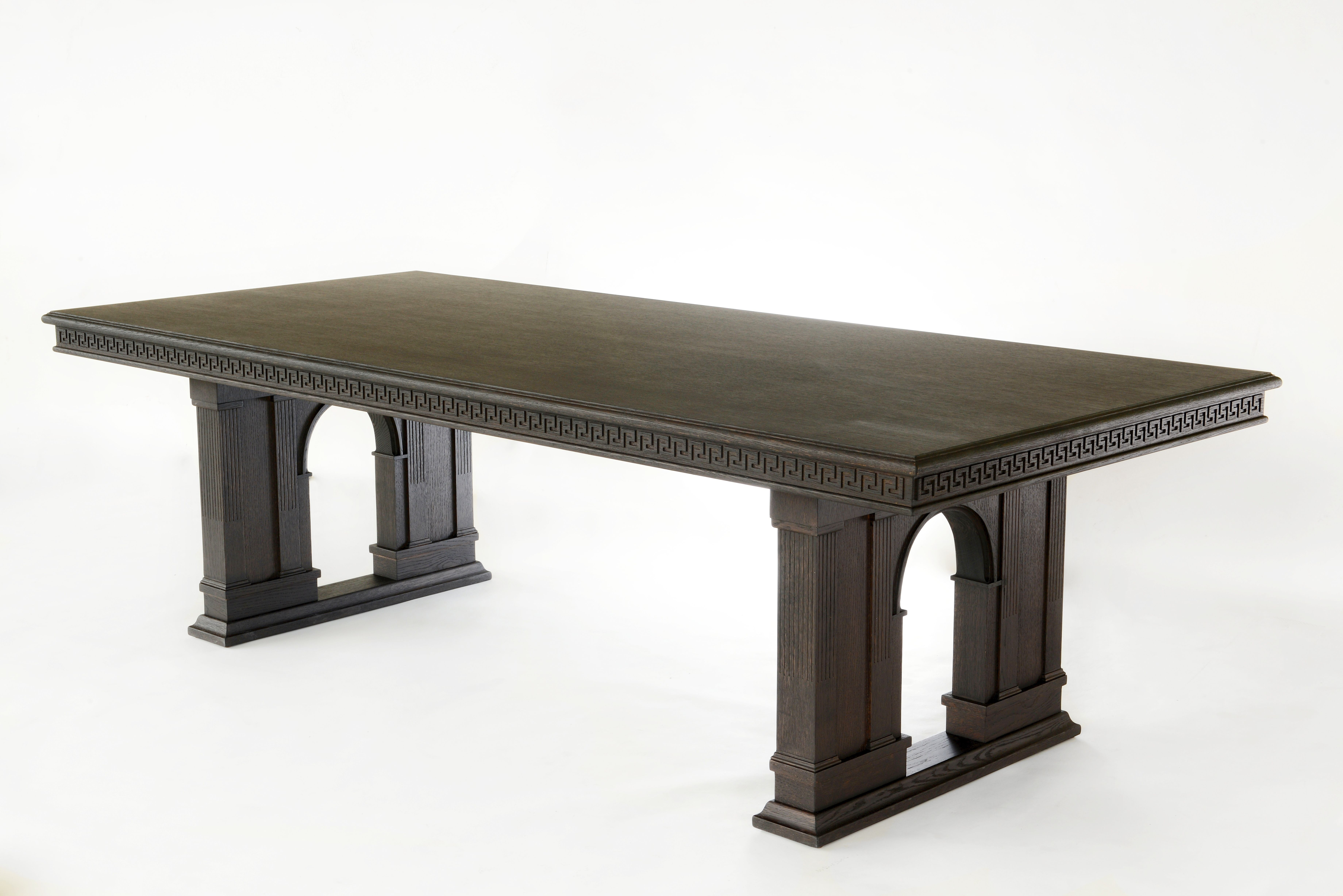 The Via Ges249 dining table from the new Versace Home  : 3b09df6f927264b5f6b52322860aa811 from www.pinterest.com size 7360 x 4912 jpeg 4429kB