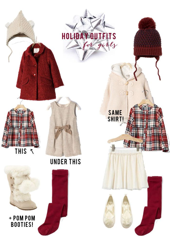 Holiday Outfits for Toddler Girls // Christmas Outfits for Girls // Toddler  Christmas Clothing // Lynzy & Co. - Holiday Outfits For Toddlers/Girls COLD WEATHER FASHION