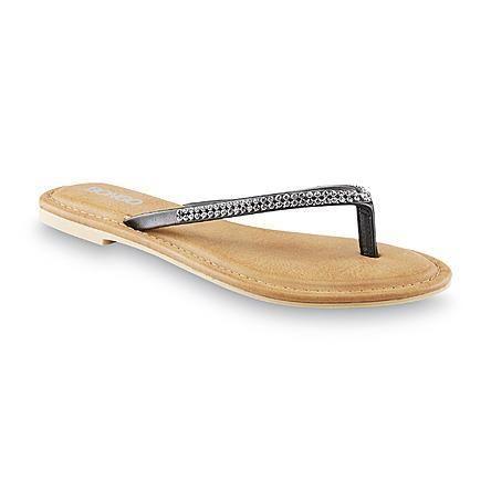 Bongo Women's Tide Black Rhinestone Thong Sandal for ONLY $5.99!! (Reg.$24.99) - http://supersavingsman.com/bongo-womens-tide-black-rhinestone-thong-sandal-5-99-reg-24-99/