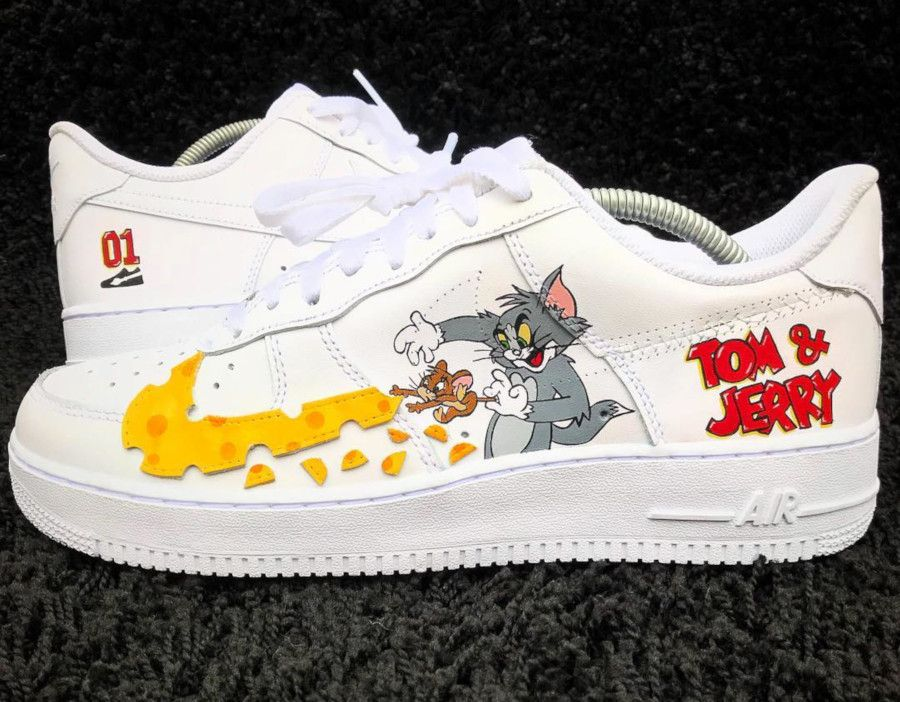 Nike Air Force 1 Low 'Tom & Jerry' (2019)   Nike air force