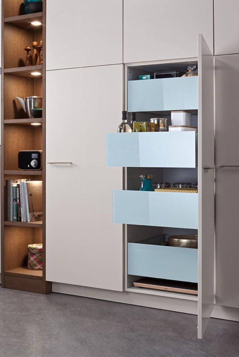 kitchen design ideas pull out drawers in kitchen cabinets rh pinterest com