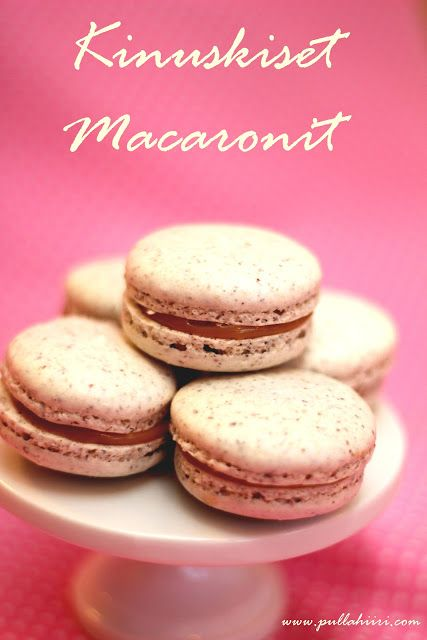 Pullahiiren leivontanurkka: Joulukalenterin luukku 20: Kinuskiset macaronit