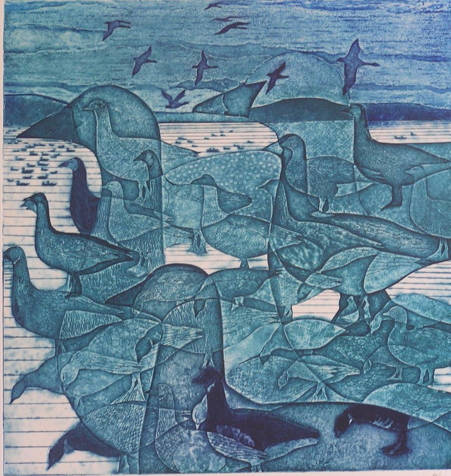 Gallery of Laurie Rudling - Aquatint Etchings, Collagraphs ...