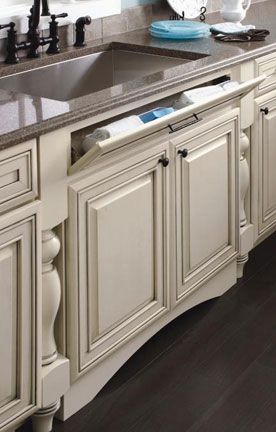 Sink Base With Tiltout On 5Piece Drawer Front  Kitchens New Kitchen Cabinet Sink Base Design Decoration