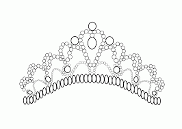 Malvorlage Prinzessin Krone