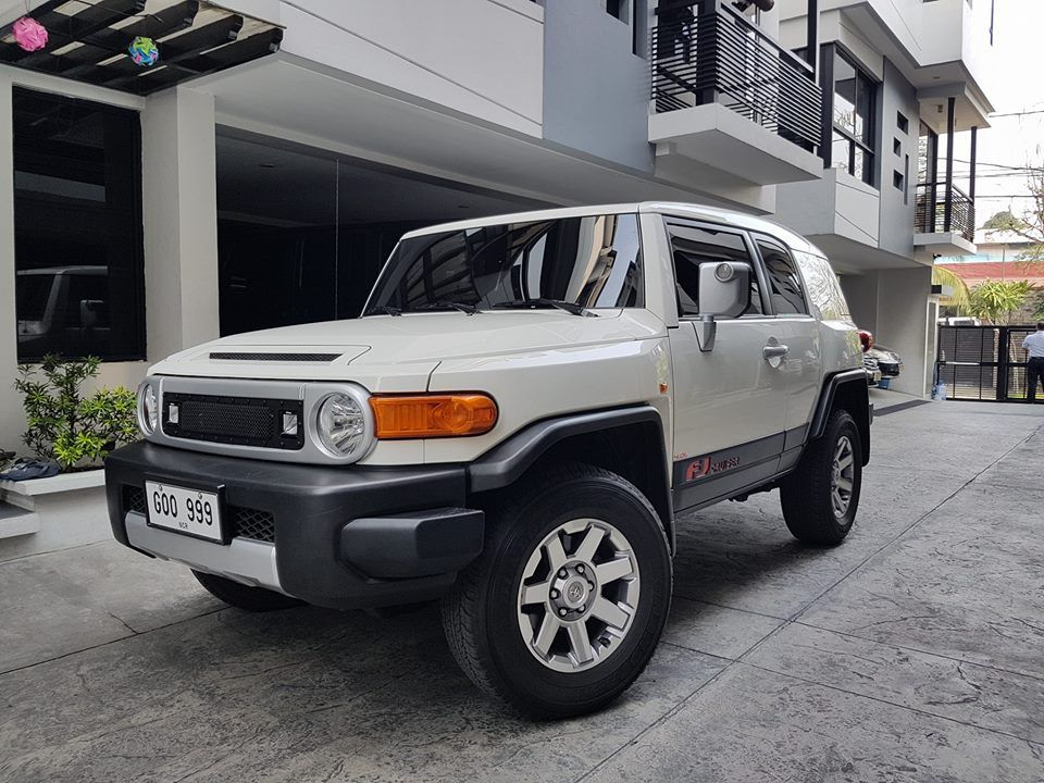 Almost New Very Low Mileage For Sale 2015 Toyota FJ