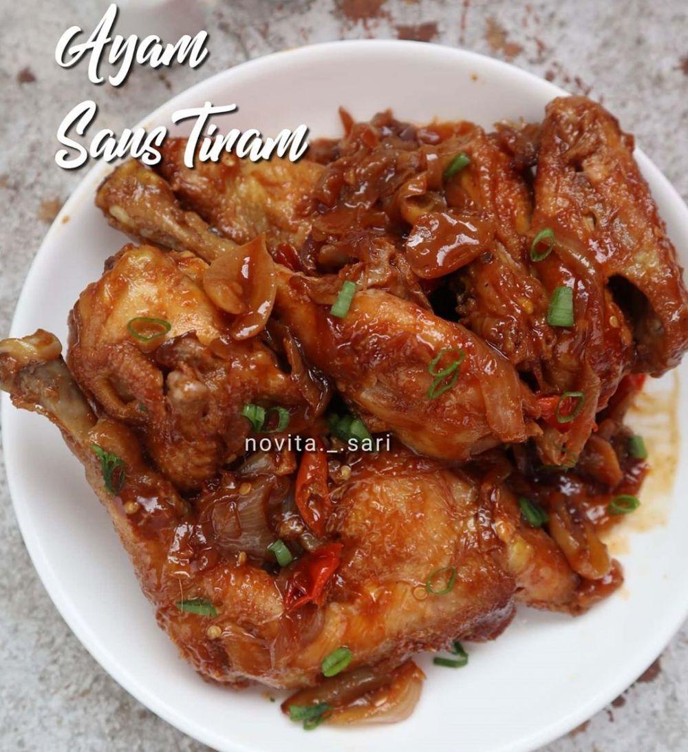 Resep Olahan Ayam Sederhana C 2020 Brilio Net Instagram Yulichia88 Instagram Novita Sari Resep Masakan Asia Masakan Asia Ayam