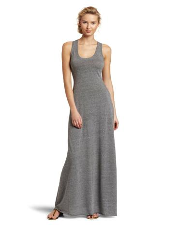 grey tank maxi dress | Emily Maynard's grey maxi tank dress ...