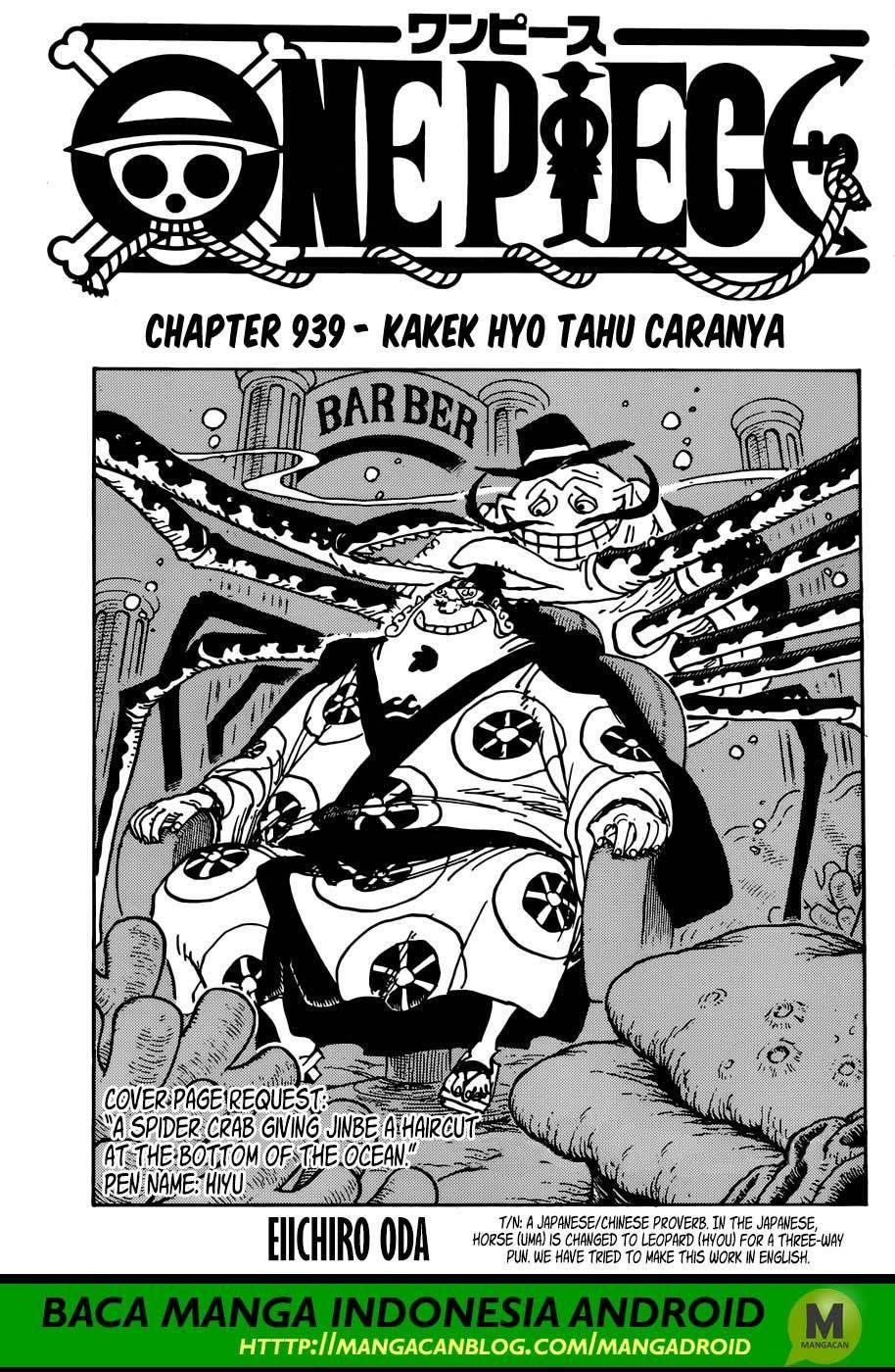 komik One Piece 939