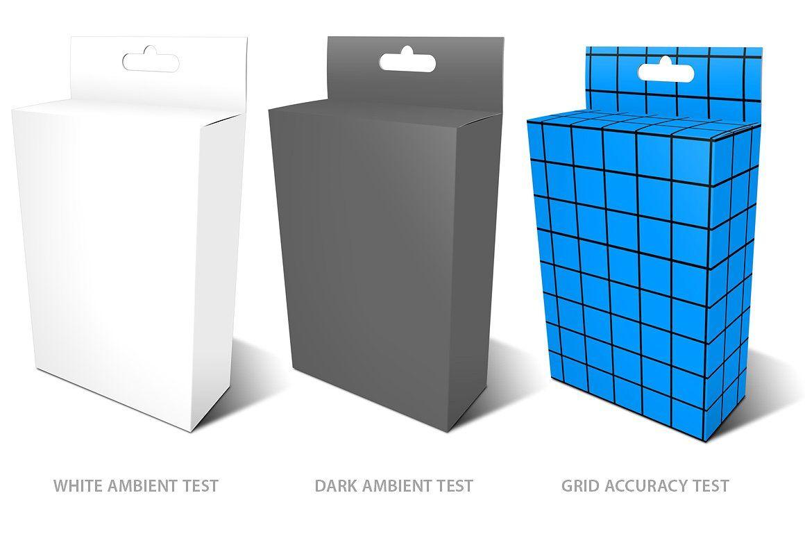 Download Peggable Retail Box Mockup Box Mockup Retail Box Branding Design Inspiration
