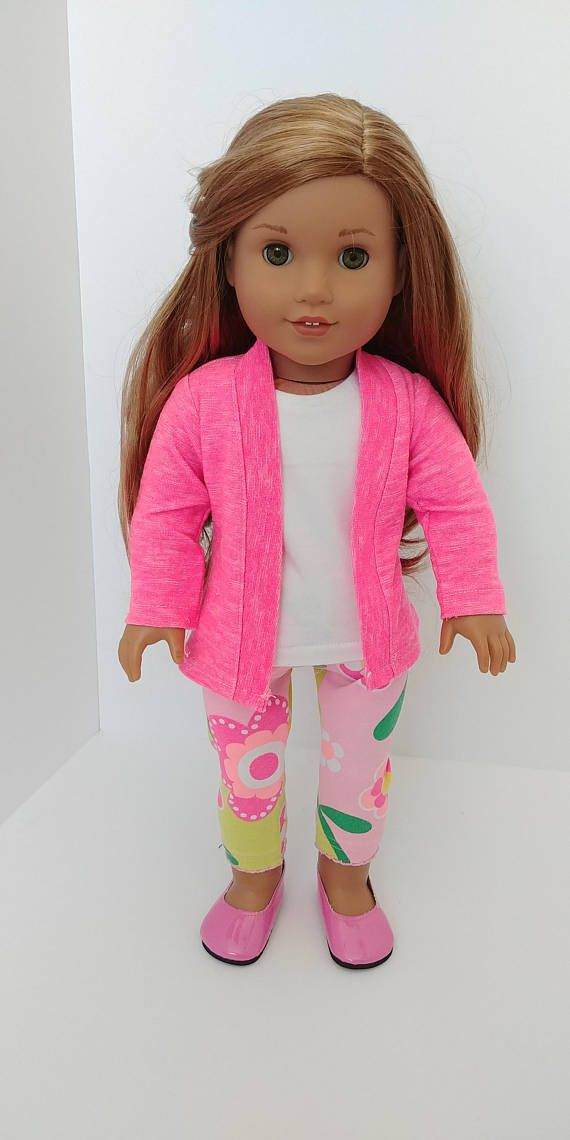 18 inch doll clothes american girl doll 18 inch doll clothing 18 inch doll clothes american girl doll 18 inch doll clothing sweater cardigan tank top and printed legs kids doll ideas patterns pinterest fandeluxe Gallery