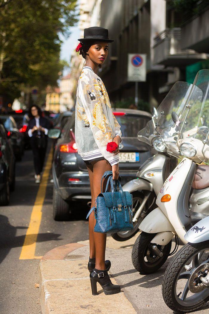 Street Style: Tami Williams Creates a Unique Look
