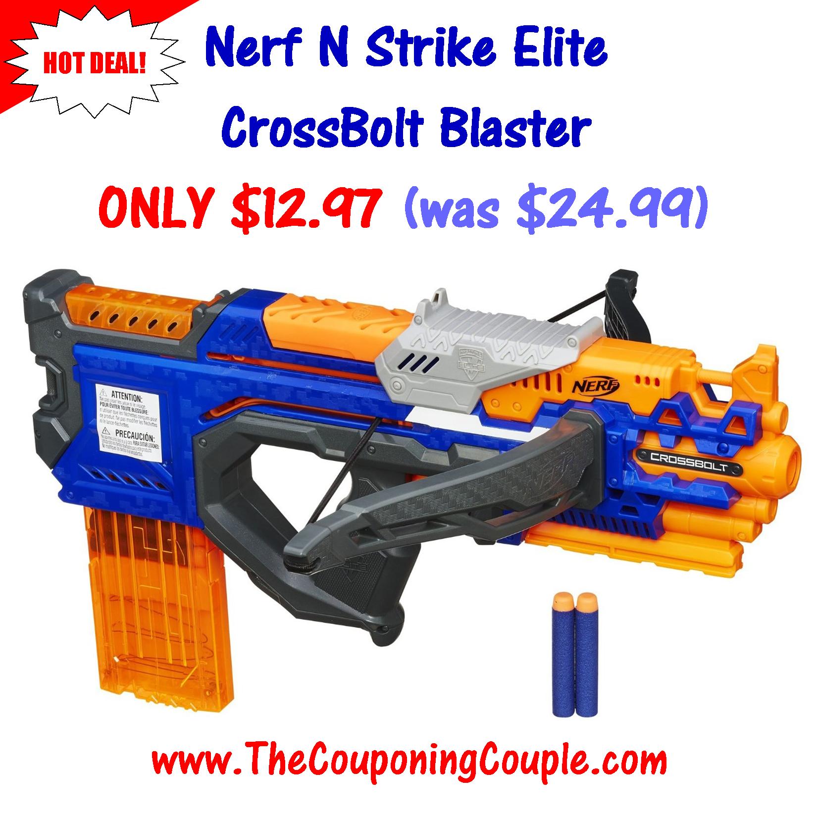 NERF N-Strike Elite Accustrike Series Raptorstrike Blaster