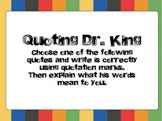 freebie to use with Martin's Big Words