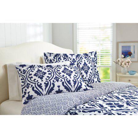 free 2 day shipping buy better homes and gardens indigo scrollwork rh pinterest com