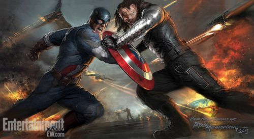 The Winter Soldier concept art