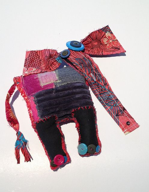 My Ragamuffin Elephant   Flickr - Photo Sharing!  Honestly, how cute is this???
