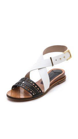 10 Crosby Derek Lam Pilar Demi Wedge Sandals Shopbop Demi Wedges Sandals