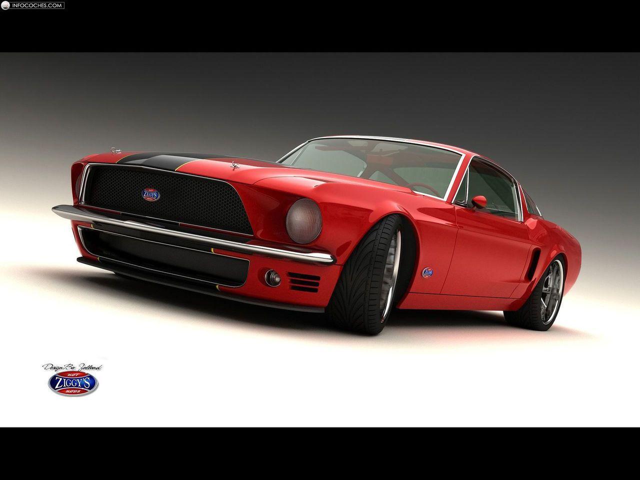 Fotos del Bo Zolland Classic Mustang Fastback Vizualtech - 3 / 6
