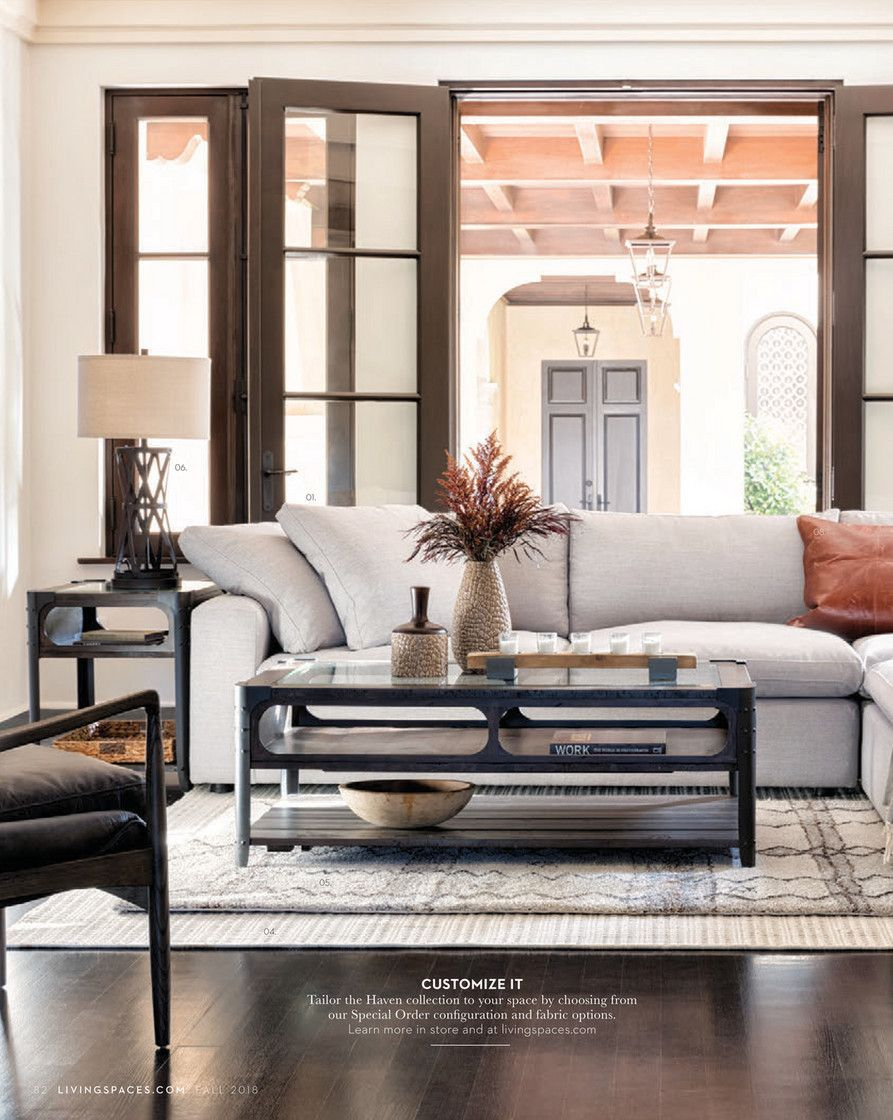 living spaces fall 2018 page 80 81 living room in 2018 rh pinterest com