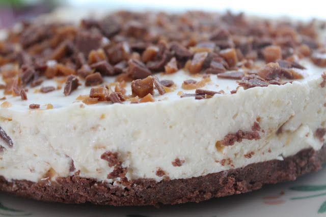 Vaniljataivas: Daim-juustokakku