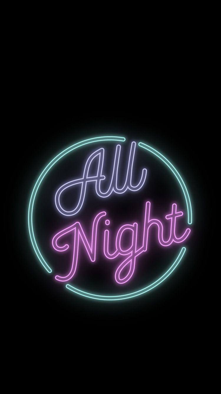 Snsd Girls Generation All Night Kpop Wallpaper Lockscreen Neon Wallpaper Kpop Wallpaper Neon Aesthetic