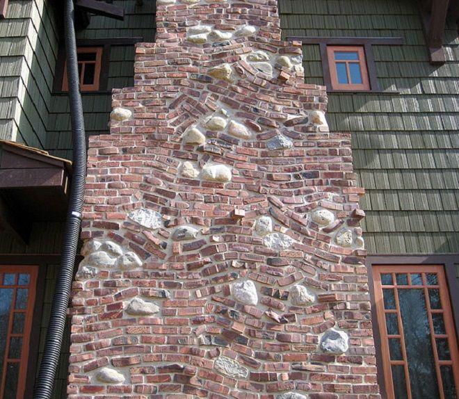 klinker brick Clinker brick, Stone chimney, Clinker