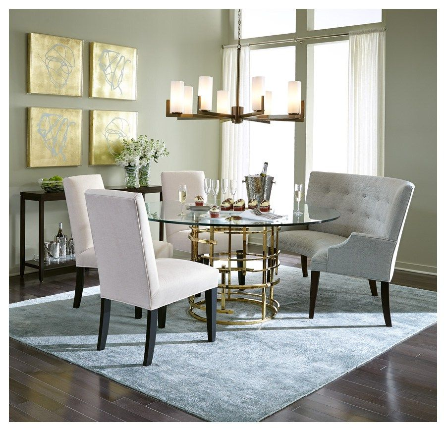 mitchell gold bob williams color feature serenity dining room rh pinterest co uk