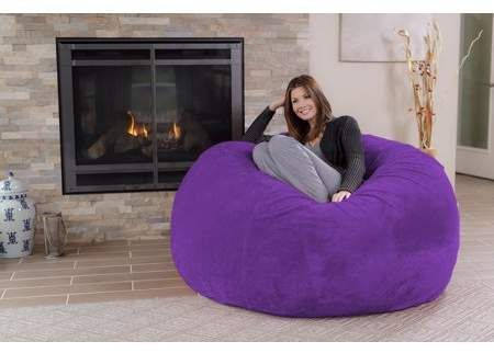 chill sack 5 ft bean bag chair multiple colors fabrics in 2018 rh pinterest com