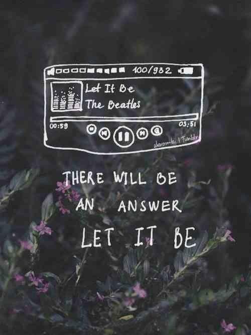 Let It Be Citazioni Canzoni E Musica Rock