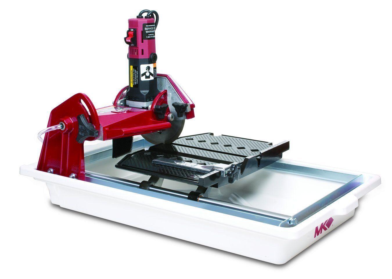 Mk Diamond Mk 370exp Wet Tile Saw In 2020 Tile Saw Tile Saws Table Saw