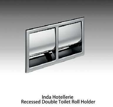 Inda Hotellerie Recessed Toilet Roll Holders Luxurious Hotel