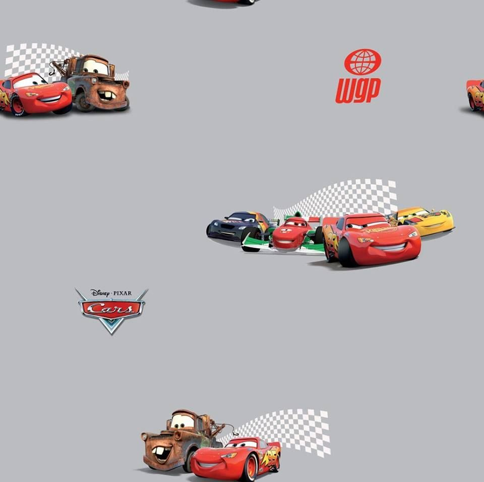 🚔 Autozimmer: Coole Tapete für das Kinderzimmer. Mit Disney Cars ...