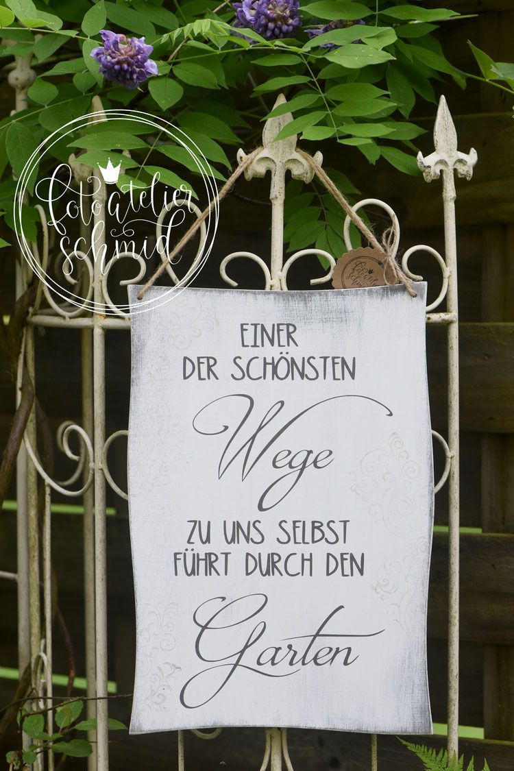 Signs made of wood / metal – foto atelier schmid  – Geschenke