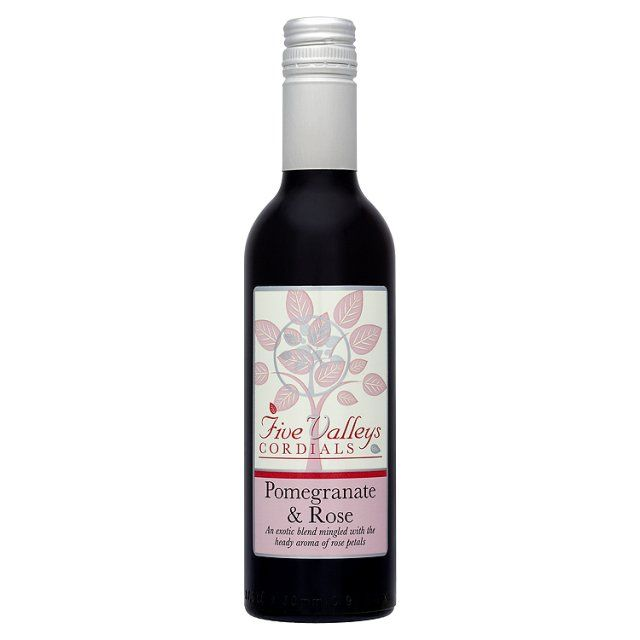 Five Valleys Pomegranate & Rose Cordial