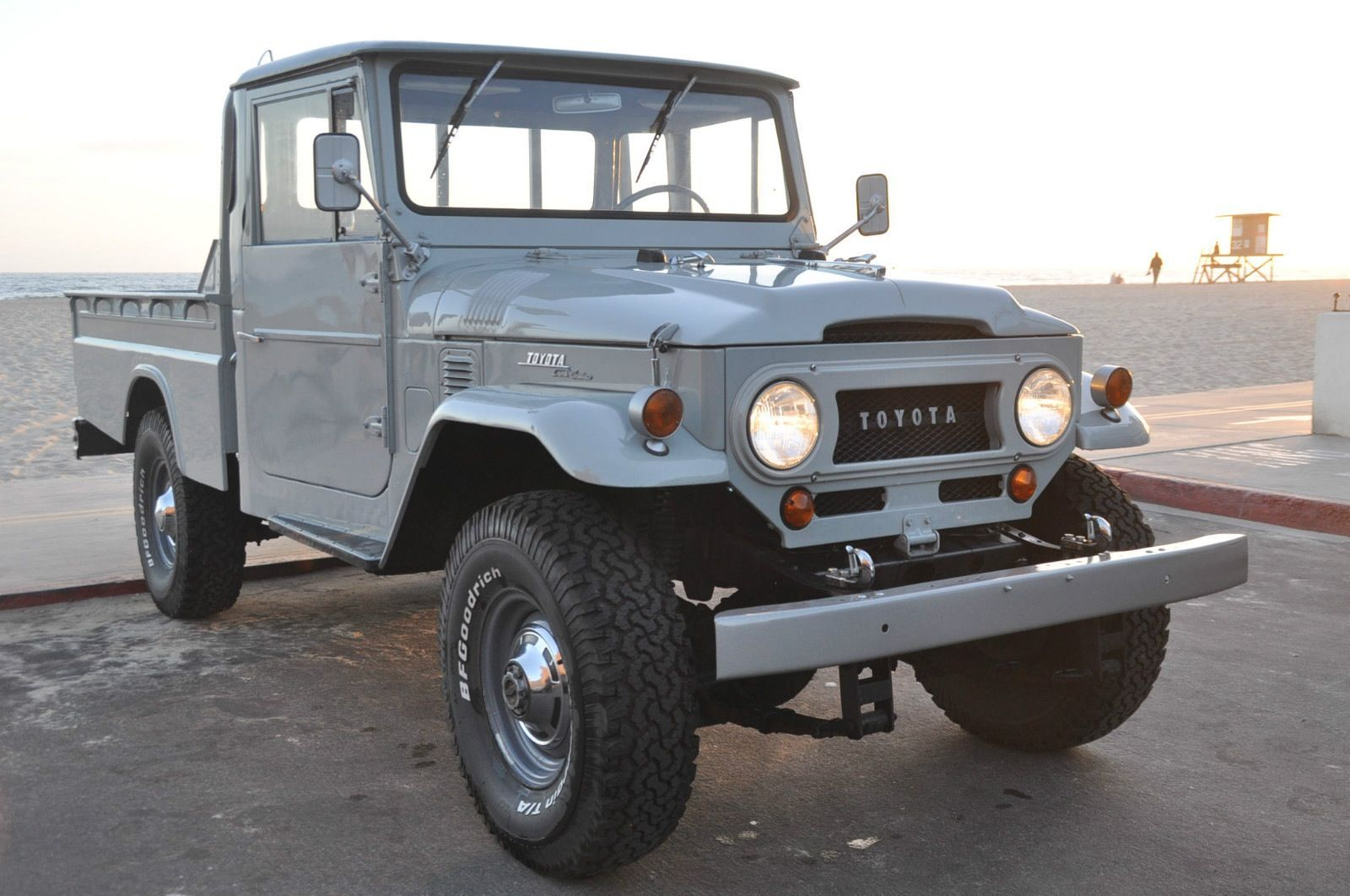 1966 toyota land cruiser fj45 truck japan restored