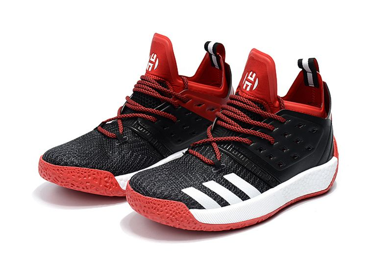 hot sales b8fa5 a9f8a New Harden Sneakers Adidas James Harden Vol 2 Black Red